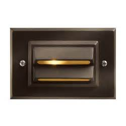 horizontal recessed deck and step light 1546bz