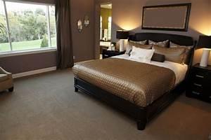 Dark Wood Bedroom Furniture Decor White Iron Bed Dark Gray ...