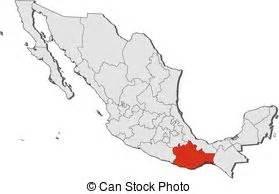 map mexico oaxaca map  mexico   provinces