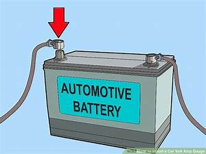 How To Install A Car Volt Amp Gauge  With Pictures