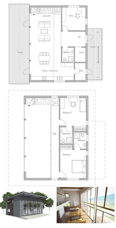 small home plan  bedrooms high ceiling affordable building budget small home design