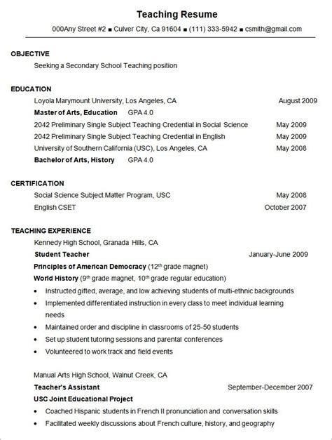 Alternate Resume Formats by Formatting A Resume Project Scope Template