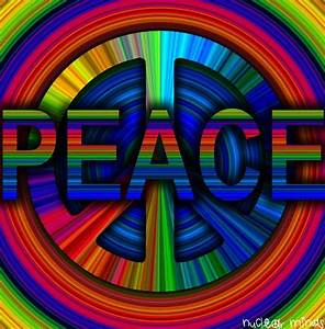 American Hippie Psychedelic Peace Sign Art ~ | PEACE ...
