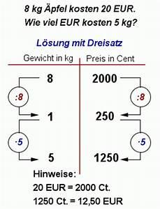 Dreisatz Berechnen : preise berechnen mit eurom nzen rechnen mit geld und dreisatz mathematik realschule klasse 5 ~ Themetempest.com Abrechnung