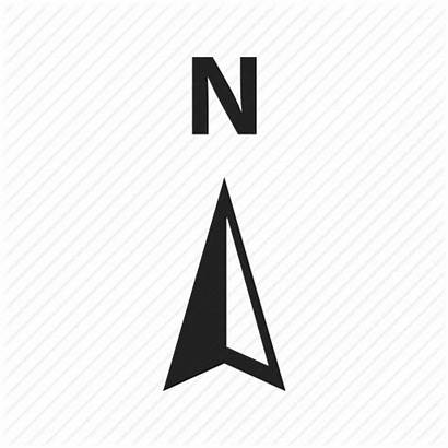 North Coordinates Direction Icon Navigation Location Navigate