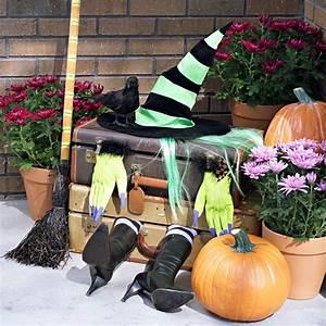 Halloween Deko Außen : deko ideen zu halloween party mit hexen hexenhaus ~ Jslefanu.com Haus und Dekorationen