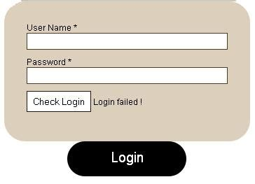 jquery login form with sliding effects style 99points