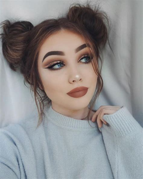 16 Super Cute Space Bun Hairstyles You Can Try This Year ...