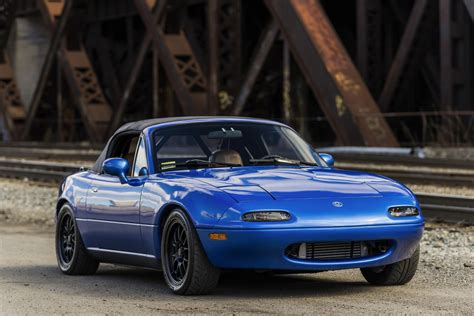 No Reserve: Modified 1995 Mazda Miata for sale on BaT ...