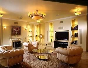 Modern, Living, Room, Lighting, Ideas