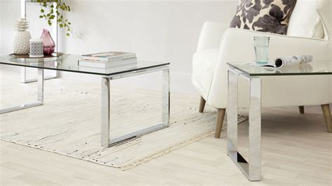 Tiva Glass Coffee Table Sets