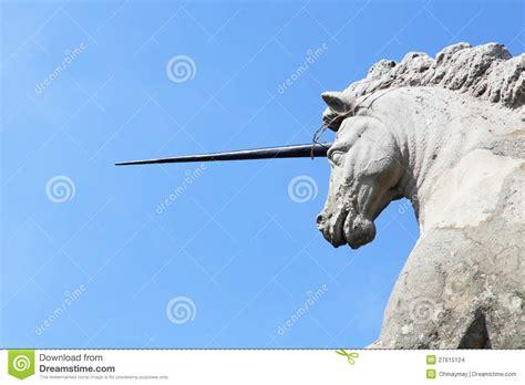 unicorno palazzo di borromeo fotografia stock immagine 27615124