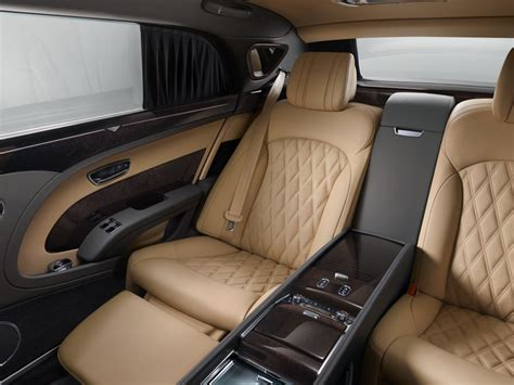 Bentley Mulsanne's Luxurious Interior