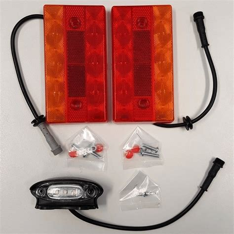 Boat Trailer Led Lights With Wiring System Roxom
