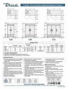 Pdf Manual For True Freezer T
