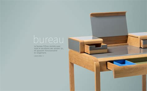 bureau secretaire bureau design bureau 50 39 s le bureau design par edition