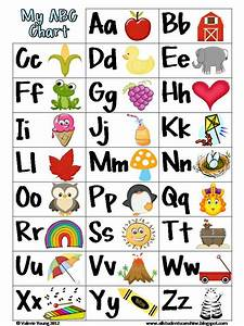 free printable abc chart kindergarten abc chart school With letter charts for kindergarten