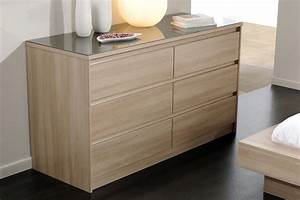 Commode adulte OPALINE Commode et coiffeuse CHAMBRE ADULTE CHAMBRE