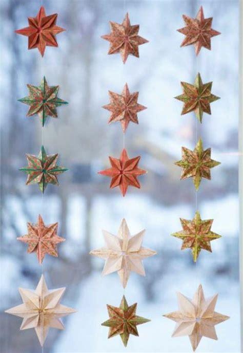 die besten  sterne basteln ideen auf pinterest papiersterne basteln weihnachtsterne