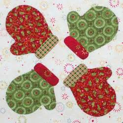 Christmas Applique Quilt Patterns