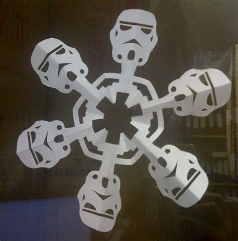 day  christmas snowflake geekologie