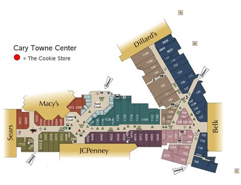 Kitchen Store Cary Towne Center by Cary Towne Center Mall Map Sas Graph Prototype