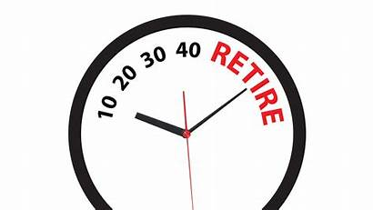 Retirement 40 Early Retire Countdown Clipart Age