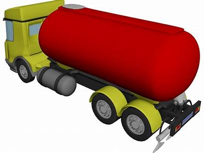 Truck Tanker 3d Daf Straight Animation Max