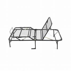 Twin Size Manual Adjustable Platform Bed Frame With Under