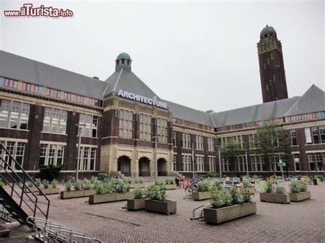 La Facoltà Di Architettura Al Campus Di   Foto Delft