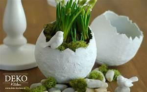 Mit Gips Basteln : diy h bsche oster deko vasen einfach selber machen deko ~ Lizthompson.info Haus und Dekorationen