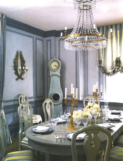 beautiful dining rooms  purple walls