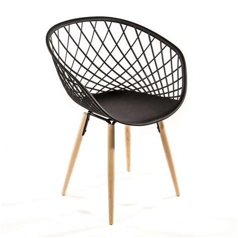 la chaise de bois angers chaise design en polypropylène et bois naturel sidera