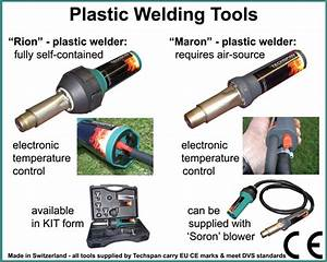 What To Consider Before Buying A Plastic Welding Tool