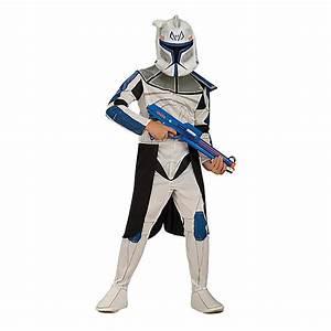 Star Wars Kinder Kostüm : clone wars clonetrooper rex star wars kinder kost m jungen neu 116 128 140 152 ebay ~ Frokenaadalensverden.com Haus und Dekorationen