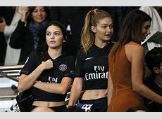 Kendall Jenner and Gigi Hadid watch PSG match alongside