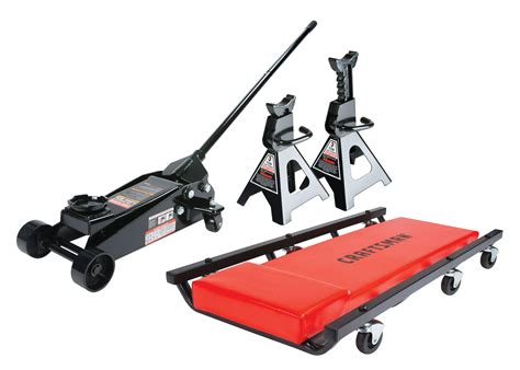 Craftsman Steel 3 Ton Floor Jack Stands Hydraulic Auto Car