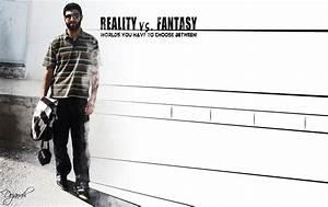 Reality vs. Fantasy by dojanah on DeviantArt