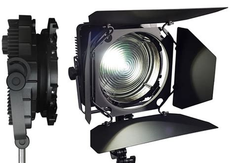 cin 233 lumi 232 res de pr 233 sente le projecteur zylight f8 led fresnel afcinema