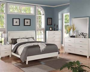 Contemporary cream bedroom set tyler by acme furniture for Bedroom furniture sets in cream