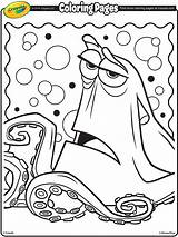 Dory Coloring Finding Pages Hank Nemo Crayola Septopus Printable Disney Adult Colouring Books Shark Destiny Getcoloringpages Driving Whale Pixar Bailey sketch template