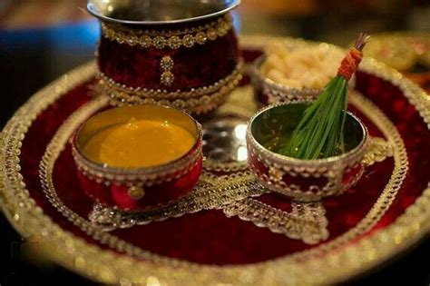 haldi thali haldi ceremony wedding preparation wedding
