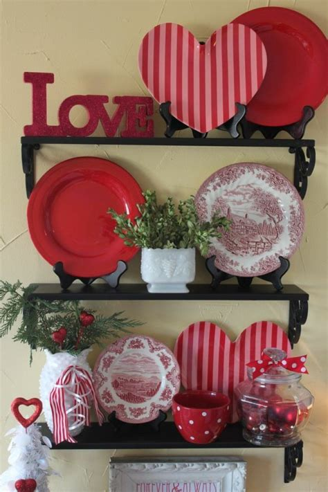 hot red valentine home decor ideas digsdigs