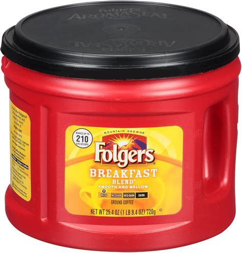 It doesn't irritate the stomach as some of the other brands. Folgers Breakfast Blend® Coffee, 25.4 oz | Shop Your Way: Online Shopping & Earn Points on Tools ...