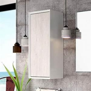 Demi Colonne Salle De Bain : demi colonne de rangement avec porte 802x33 cm tokyo ~ Premium-room.com Idées de Décoration