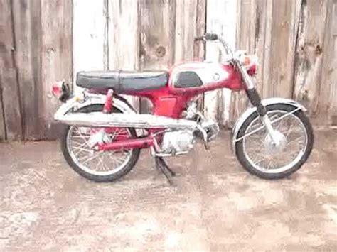 moto antiga honda ss50