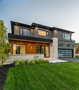 Southview Modern Home - Contemporary - Exterior - Toronto