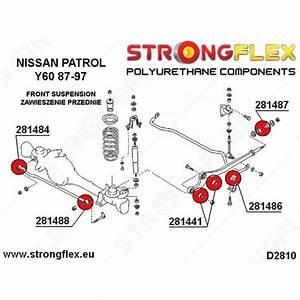 281488a - Panhard Rod Bushing Body Mount 14mm Sport