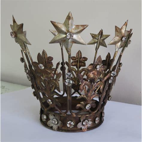 Spanish Crown W/ Stars & Rhinestones C. 1920's | Melissa ...