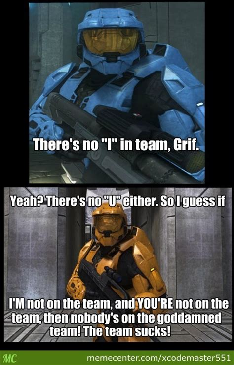 Rvb Memes - red vs blue awesome moment by recyclebin meme center